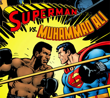 Float like a butterfly vs faster than a speeding bullet: Ali was actually on the first list of names to play Superman.