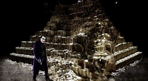 This is approximately the amount of money The Dark Knight earned in its first weekend.