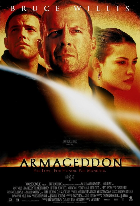 """Armageddon that asteroid, that's a promise.  And a pun!"""